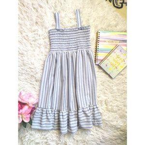 Summer Girls' Ruffle Dress